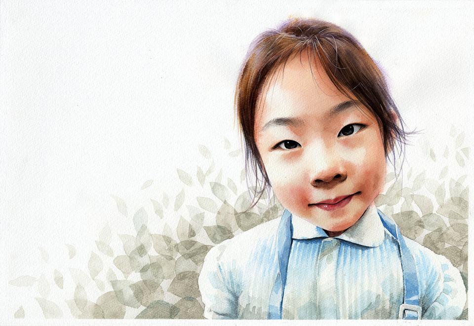 watercolor-portrait-1049071_960_720